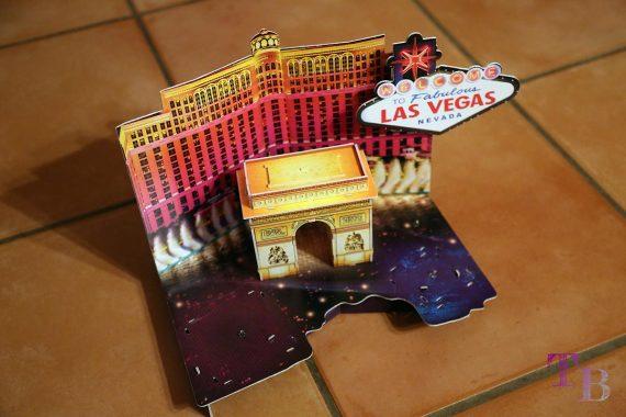 3D Puzzle Las Vegas Tor Bellagio