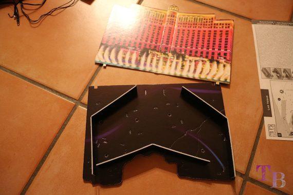 3D Puzzle Las Vegas Lidl Grundplatte gerissen