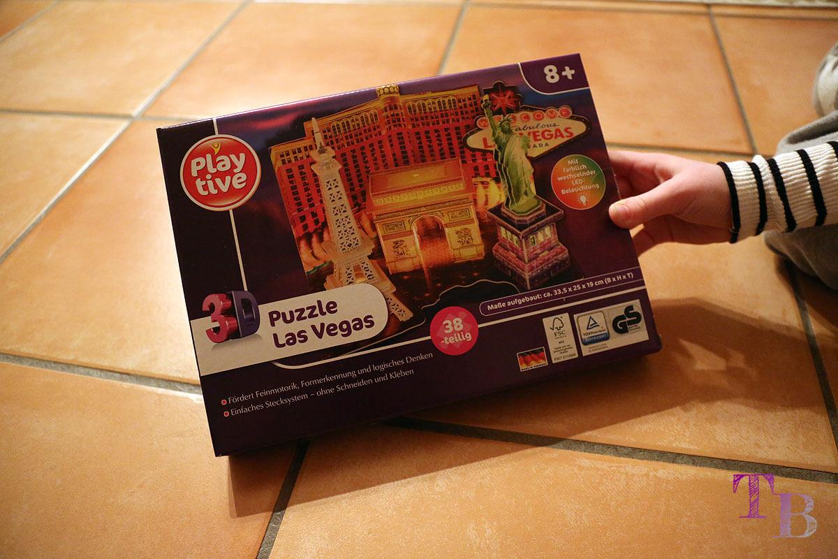 3D Puzzle Las Vegas Lidl