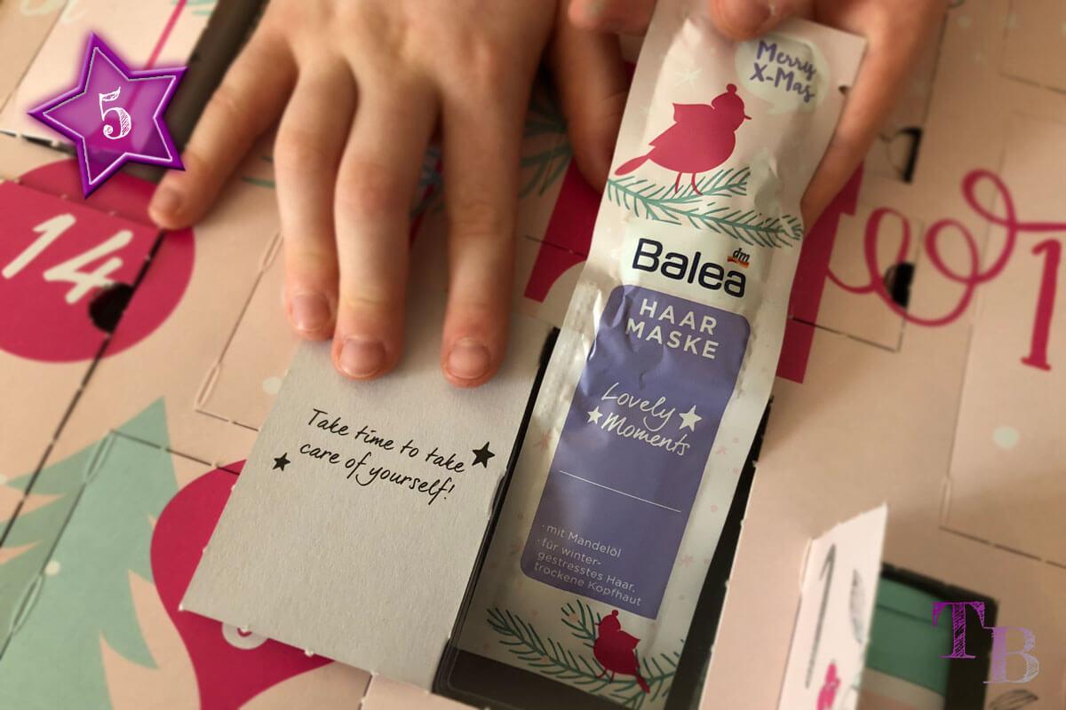 Balea Adventskalender Haarmaske