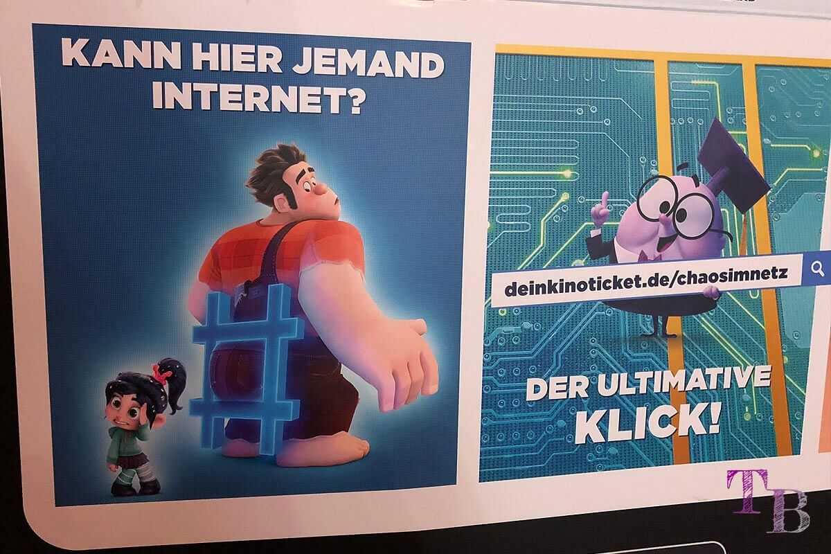 Chaos im Netz Ralph reichts Kino Internet