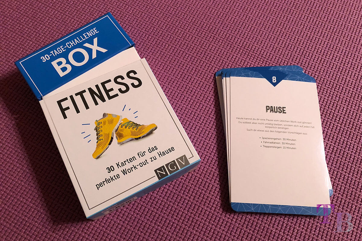 Fitness Challenge Box Pause Lidl