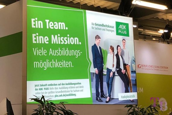 KarriereStart Messe Dresden Krankenkasse AOK