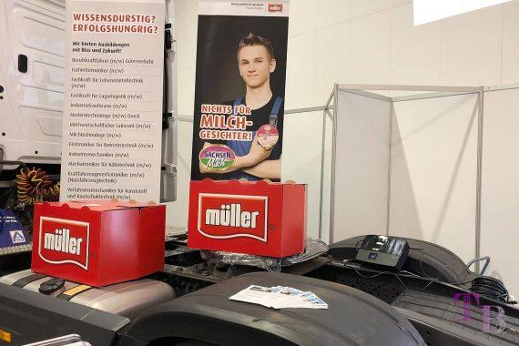 KarriereStart Messe Dresden Sachsenmilch Müller