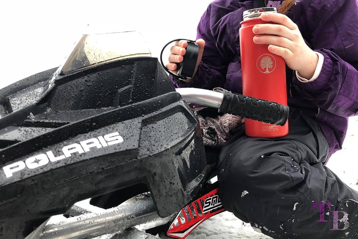 amapodo Teeflasche Sportflasche Outdoor Wintersport