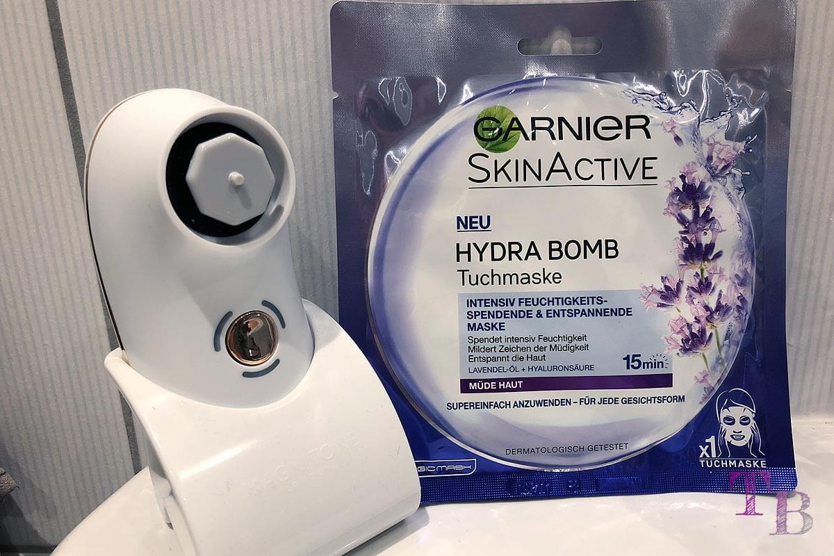 Garnier Tuchmaske Skinactice Hydra Bomb müde Haut