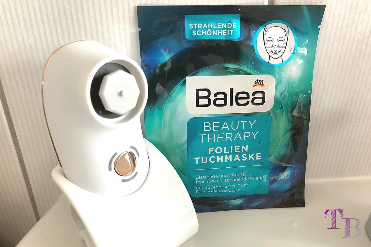 Balea Folien Tuchmaske Beauty Therapy Maske