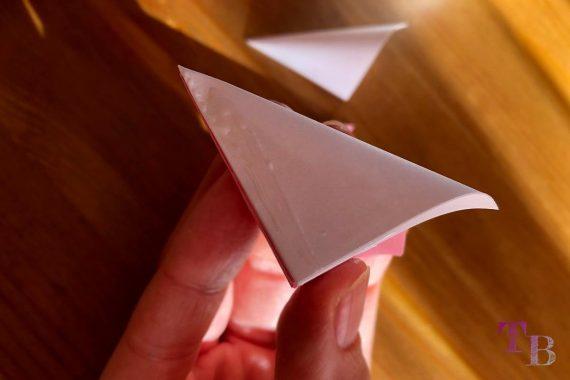 Blüten Papier Kusudama DIY zusammenfügen