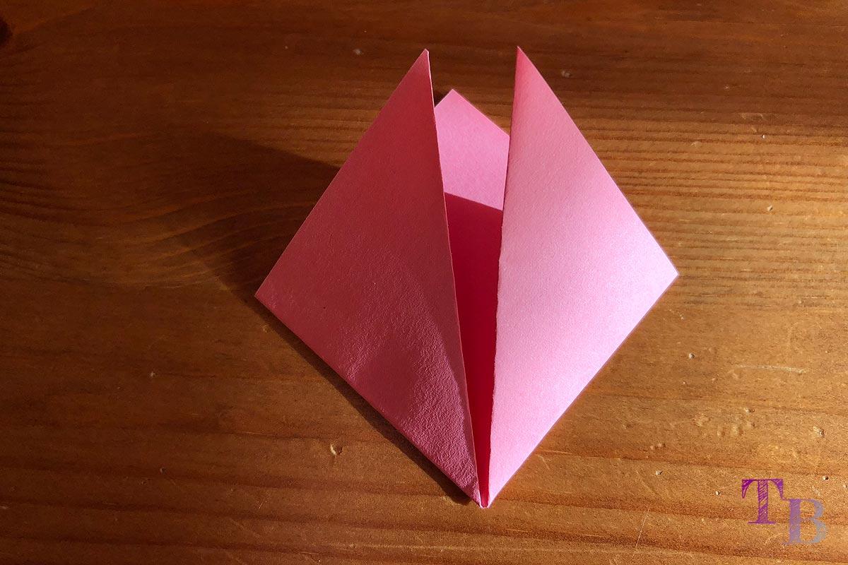 Blüten Papier Kusudama DIY Ecken falten