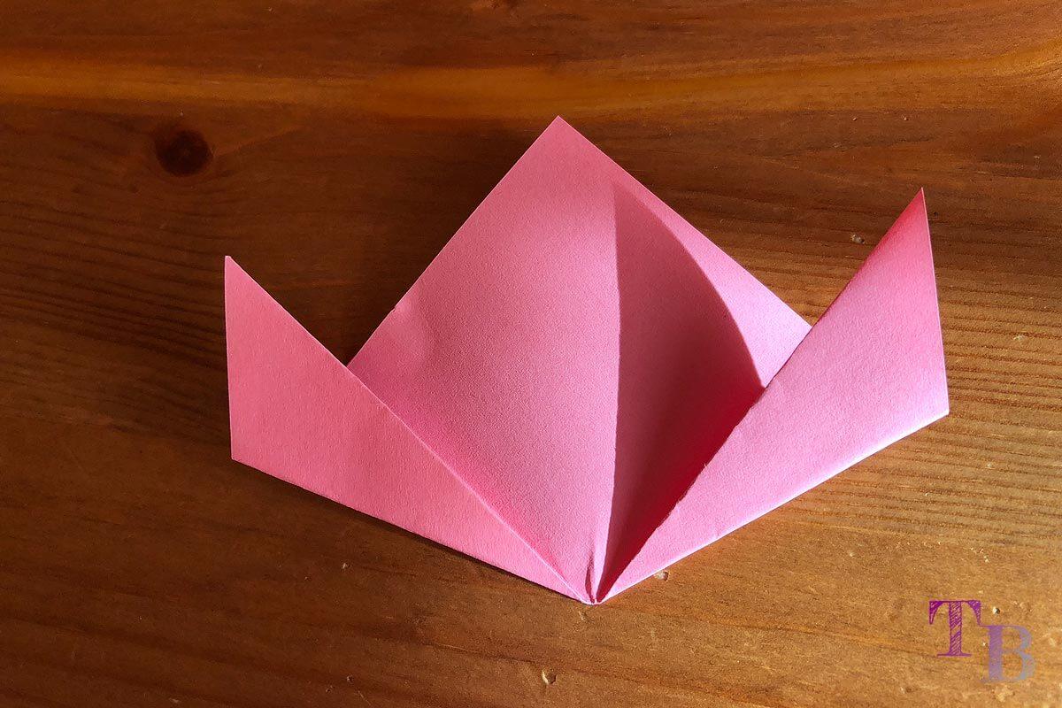 Blüten Papier Kusudama DIY Kanten falten