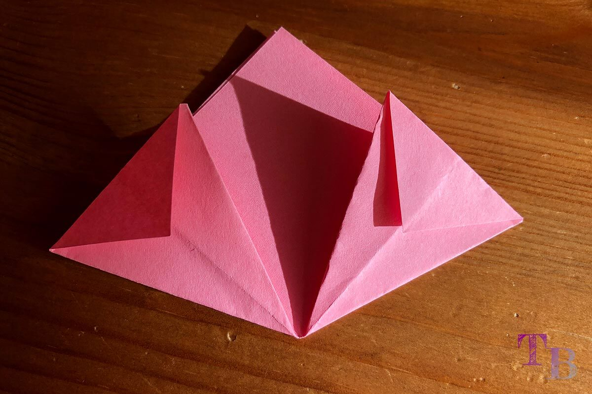 Blüten Papier Kusudama DIY Spitzen falten