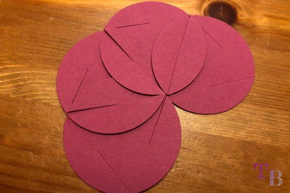 Fancy Shapes Blütenkugel Farbe Schritt 3