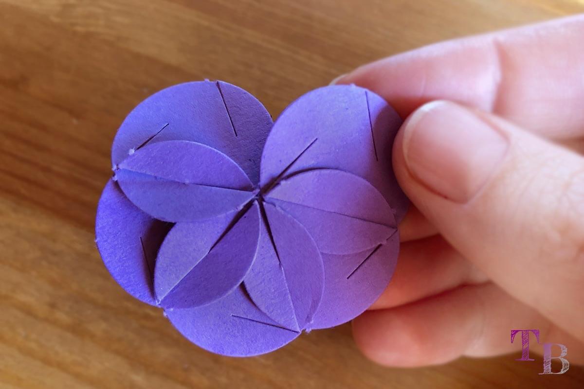 Fancy Shapes Blütenlinse stecken