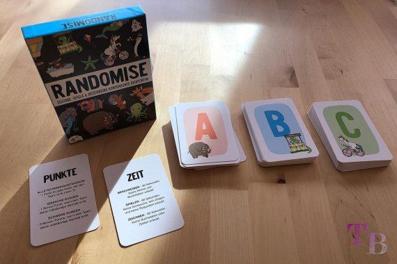 Gamely Games Randomise Spiel Partyspiel Karten