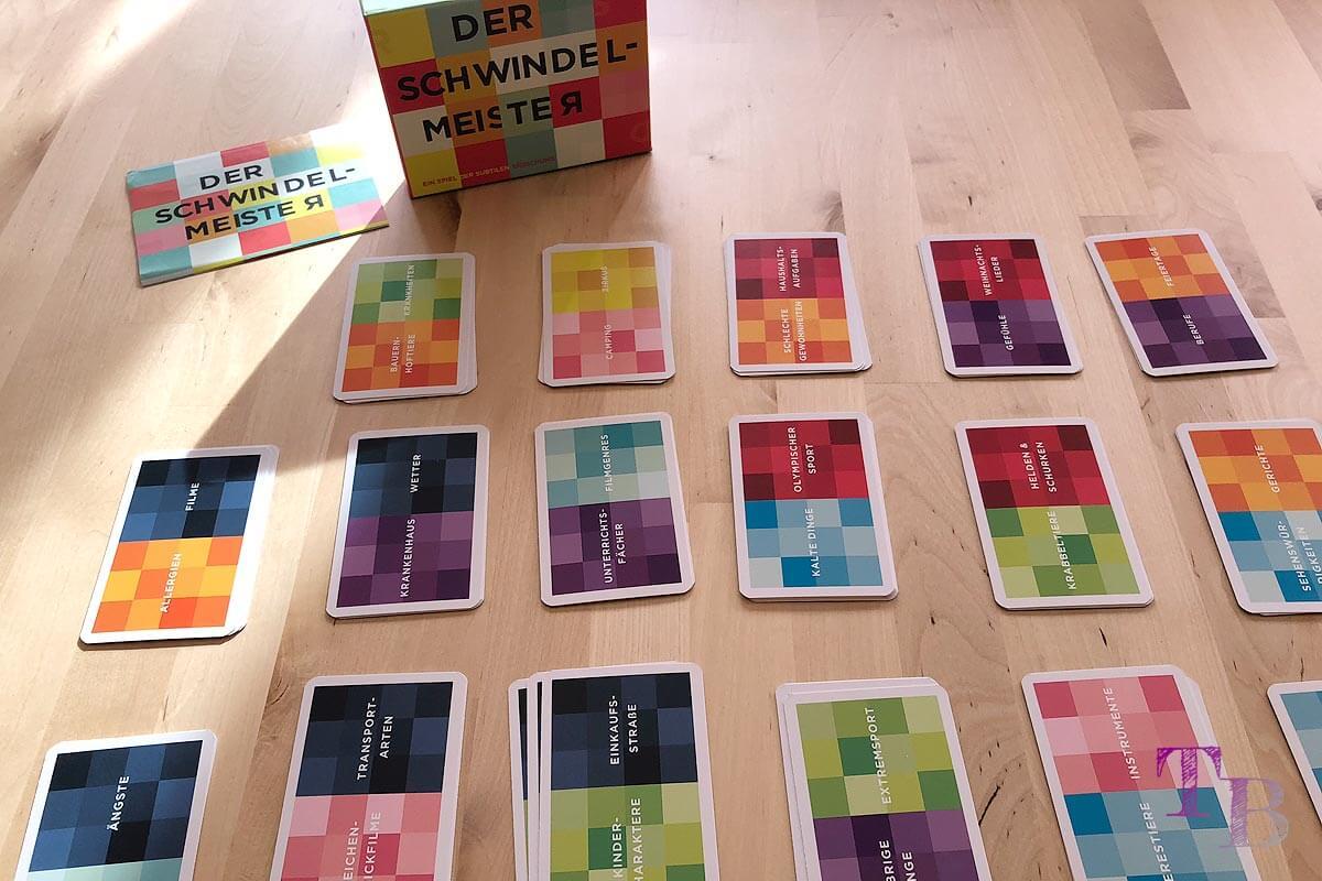 Gamely Games Der Schwindelmeister The Pretender Karten