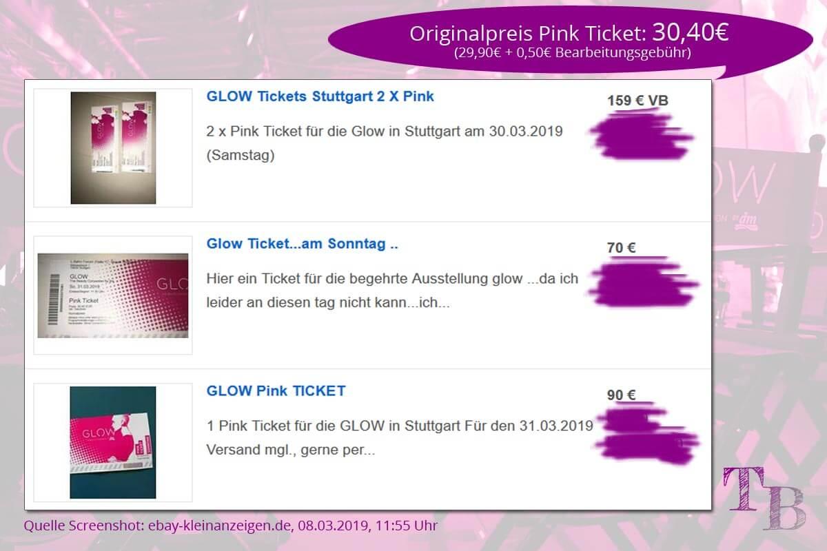 GLOW by dm Stuttgart Ankündigung Tickets Jubiläum