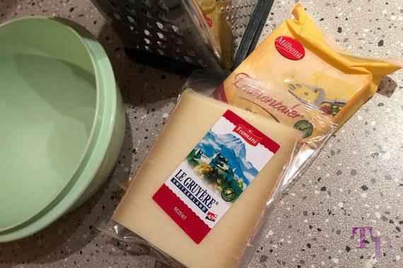 Käsefondue Käse Gruyère Emmentaler
