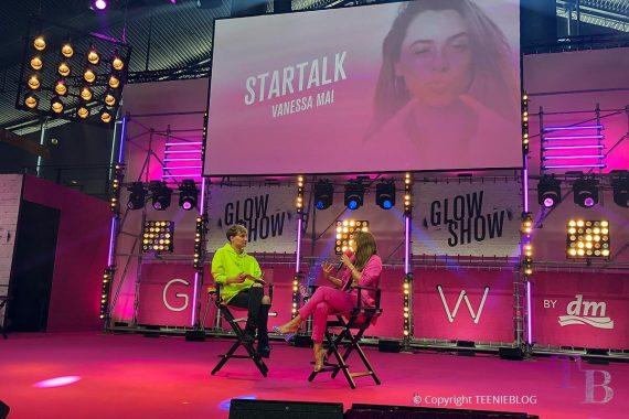 GLOW by dm Stuttgart Startalk Vanessa Mai GLOW stage