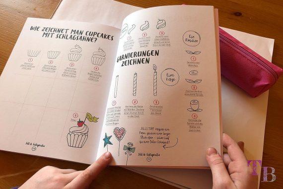 Jills Welt Zeichnen mit Jill Buch Cupcakes