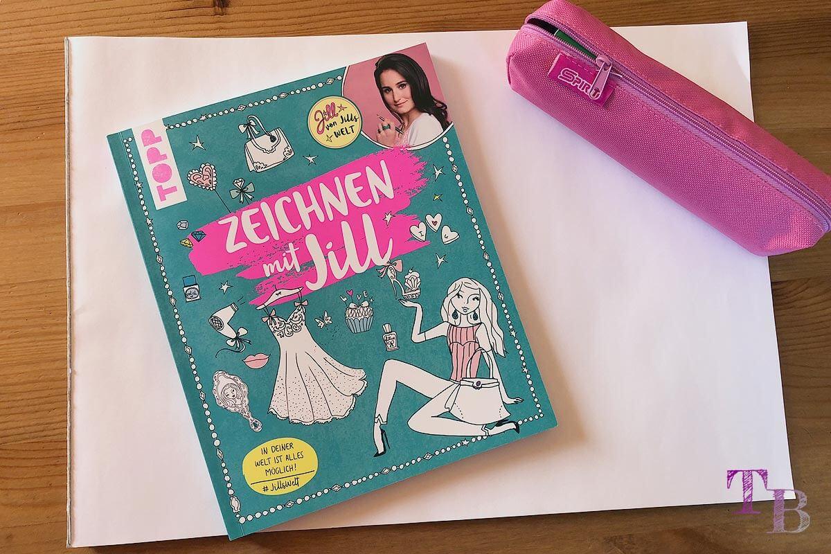 Jills Welt Zeichnen mit Jill Buch Einblick