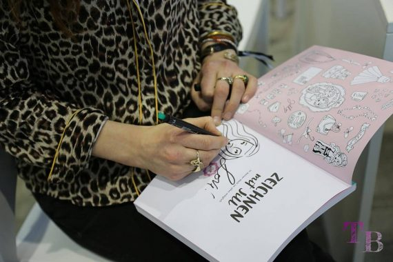 Jills Welt Zeichnen mit Jill Autogramm