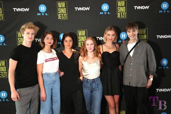 Wir sind jetzt Young Fiction-Serie TVNOW RTL2 Cast Schauspieler
