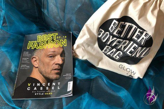 Better Boyfriend Bag GLOW by dm Stuttgart 2019 Men's Health Fashion