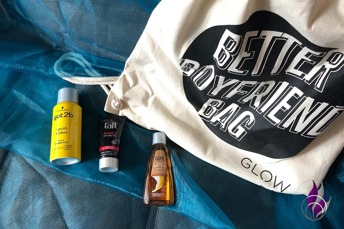 Better Boyfriend Bag GLOW by dm Stuttgart 2019 Styling