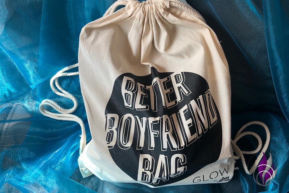 Better Boyfriend Bag GLOW by dm Stuttgart 2019