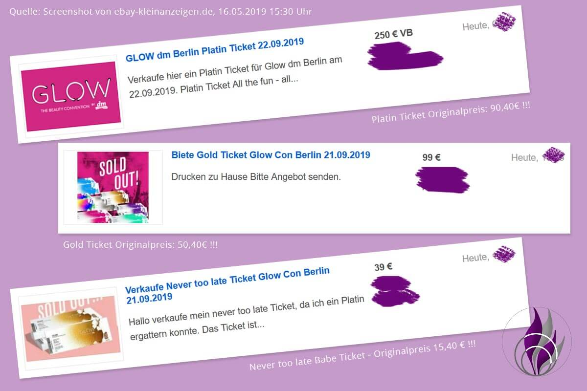 GLOW by dm Berlin 2019 GLOWcon Tickets ebay