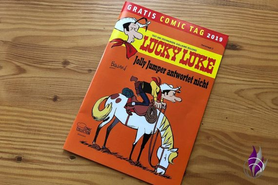 Gratis Comic Tag 2019 Lucky Luke Cover