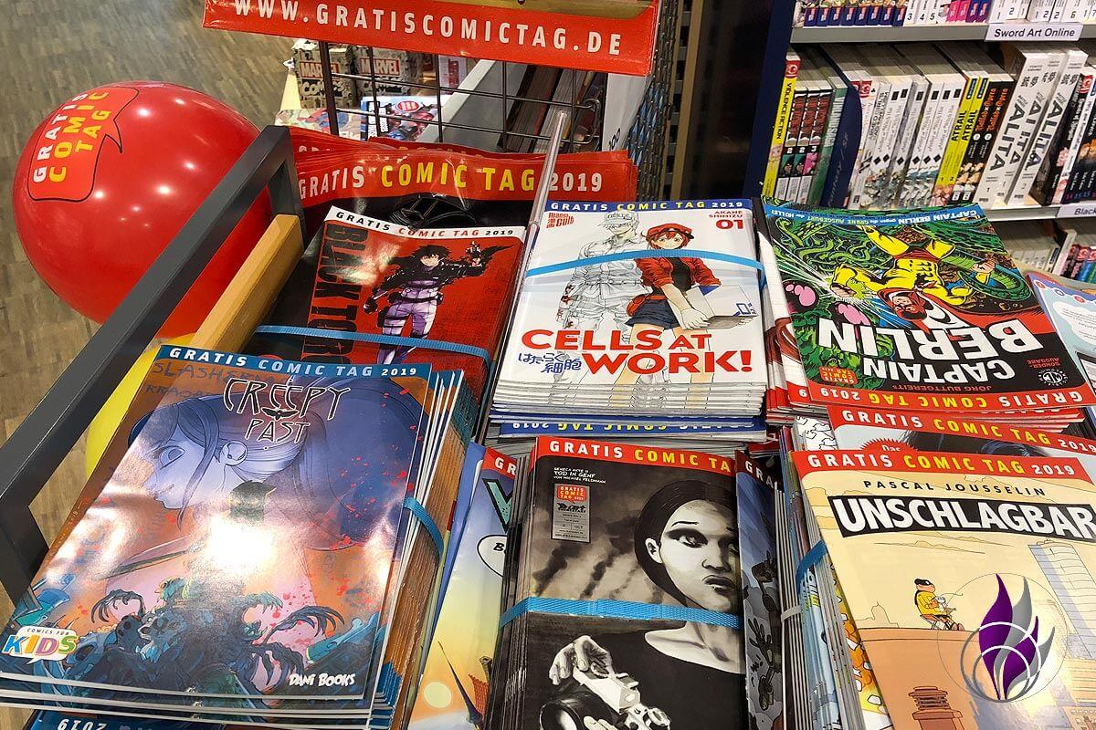 Gratis Comic Tag 2019 Thalia Buchhandlung Auwahl