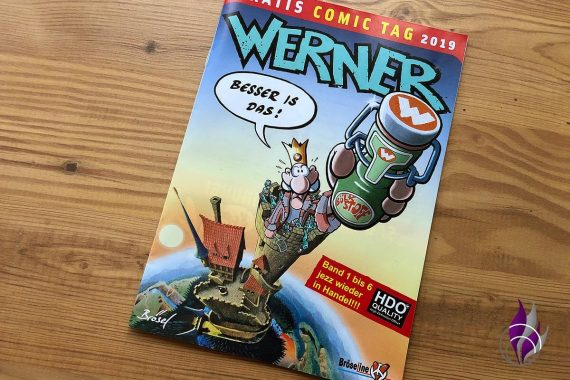 Gratis Comic Tag 2019 Werner Cover