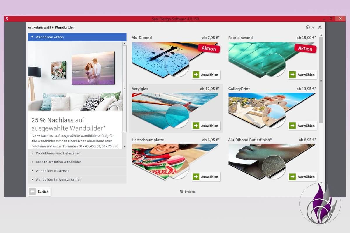 Saal Digital Fotoservice Produkte Wandbilder