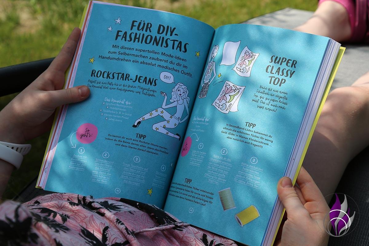 Jills Welt Ferienbuch DIY Fashionista
