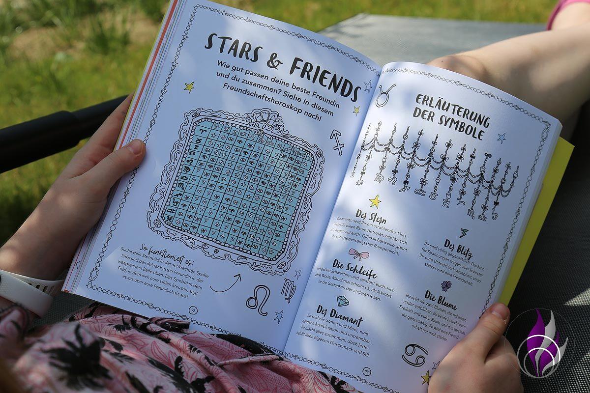 Jills Welt Ferienbuch Freundschaft Test BFF