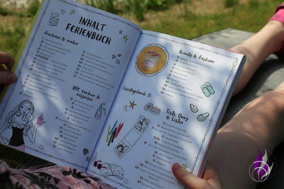Jills Welt Ferienbuch Inhalt