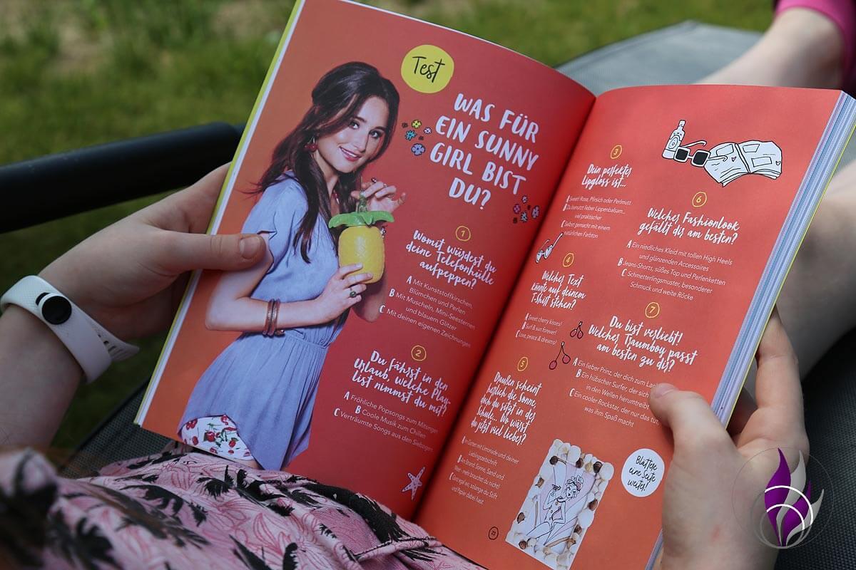 Jills Welt Ferienbuch Persönlichkeit Test