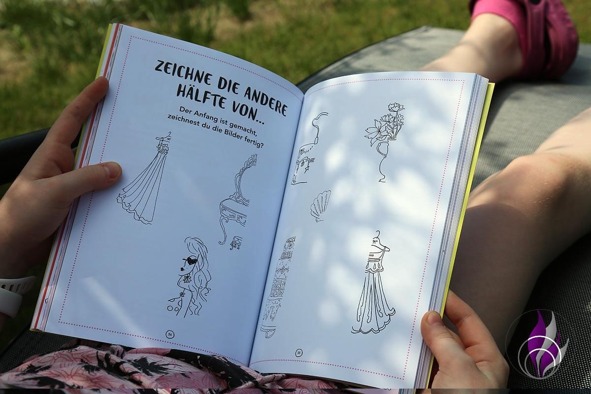 Jills Welt Ferienbuch Zeichnen Malen