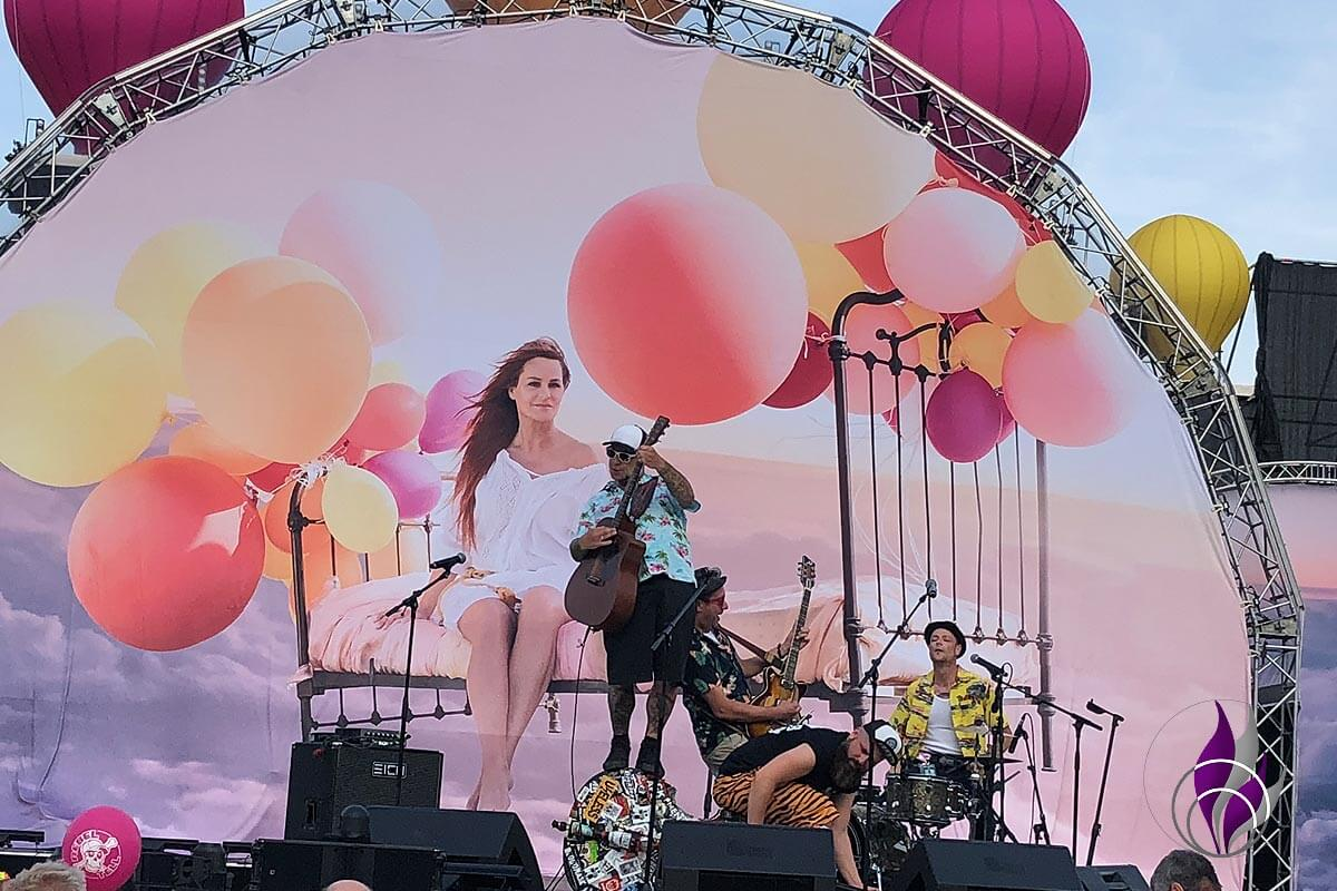 Andrea Berg Heimspiel 2019 The Rebel Tell Band