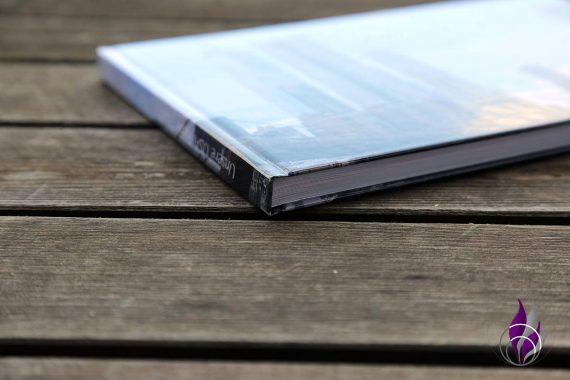 Foto-Hardcover Saal Digital Buchrücken Kanten