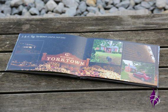 Fotobuch Saal Digital Doppelseite LayFlat-Bindung