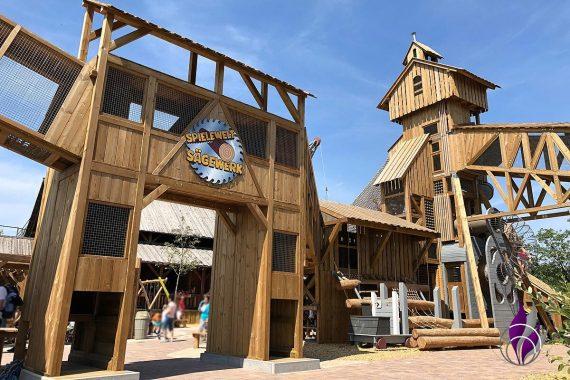 Tripsdrill 90 Jahre Abenteuerspielplatz Sägewerk