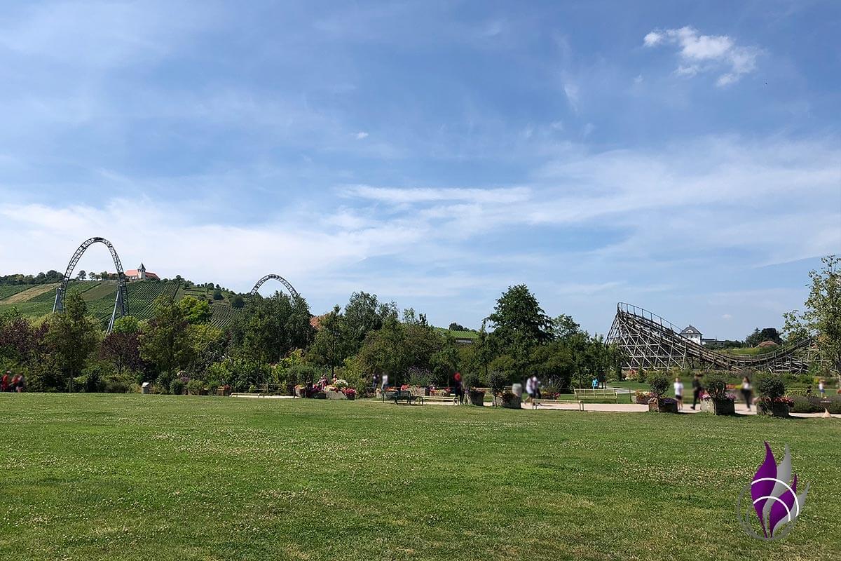 Erlebnispark Tripsdrill 90 Jahre Achterbahn Mammut Katapult
