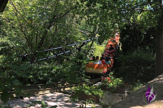 Freizeitpark Tripsdrill 90 Jahre Achterbahn Rasender Tausendfüßler