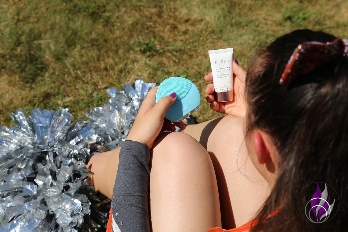 FOREO LUNA mini 2 Cheerleading Gesichtsbürste