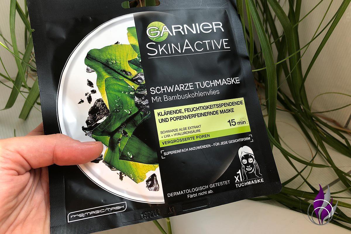 Garnier #Garnierliebling Tuchmaske Skinactive