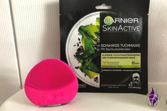 Garnierliebling Tuchmaske FOREO LUNA mini 2