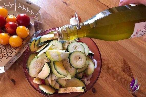 Grillgemüse Gemüse Andronaco Olivenöl
