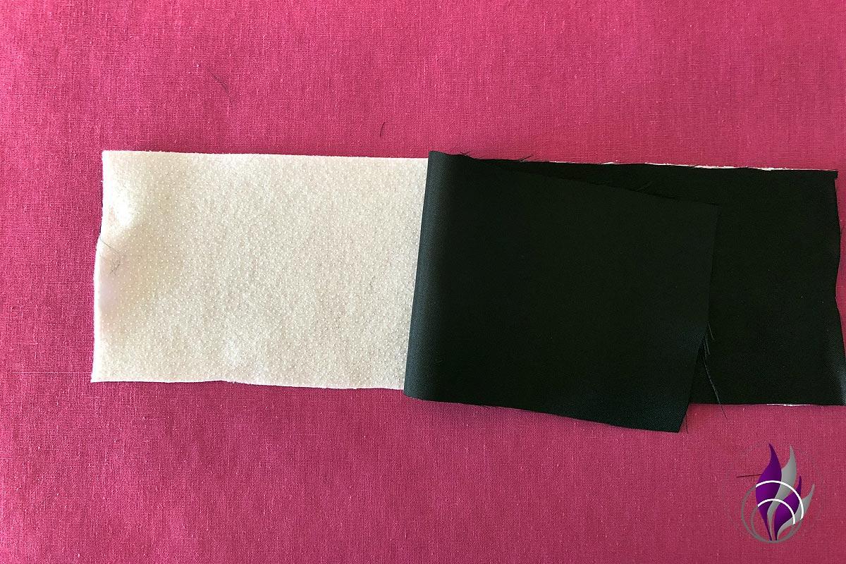 Smartphone Tasche Volumen Vlies bügeln